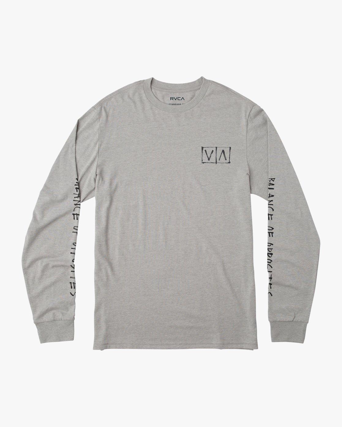1 Boy's Horton Box Long Sleeve T-Shirt  B451URHO RVCA