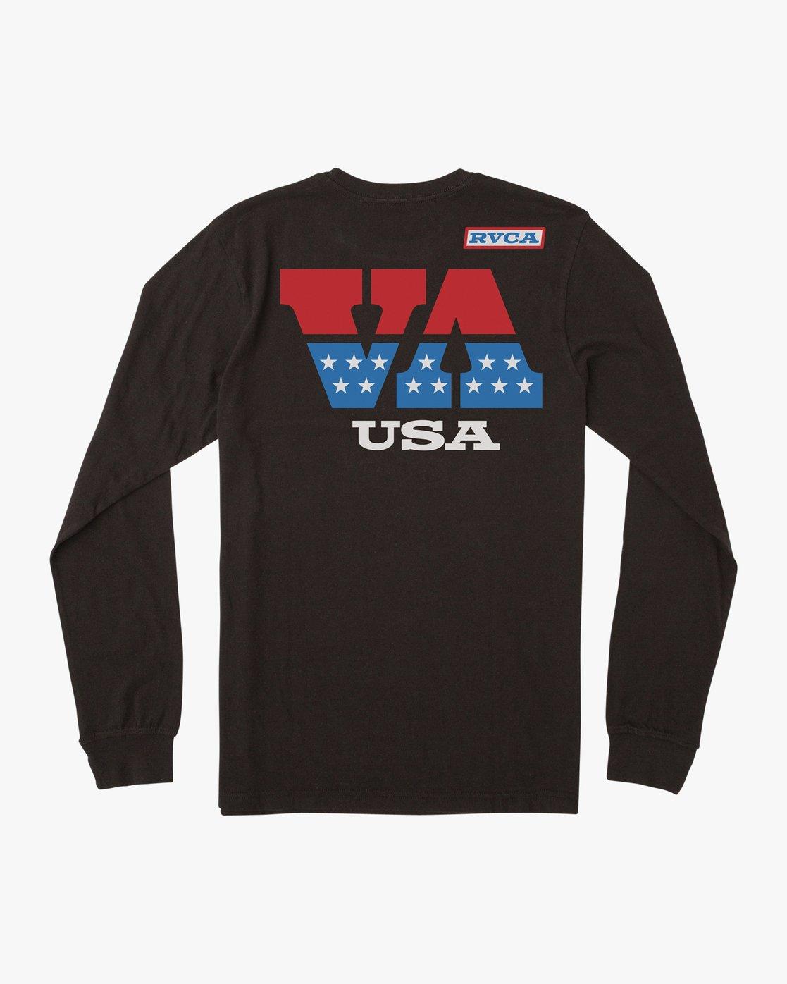 1 Boy's Indianapolis T-Shirt Black B451URIN RVCA