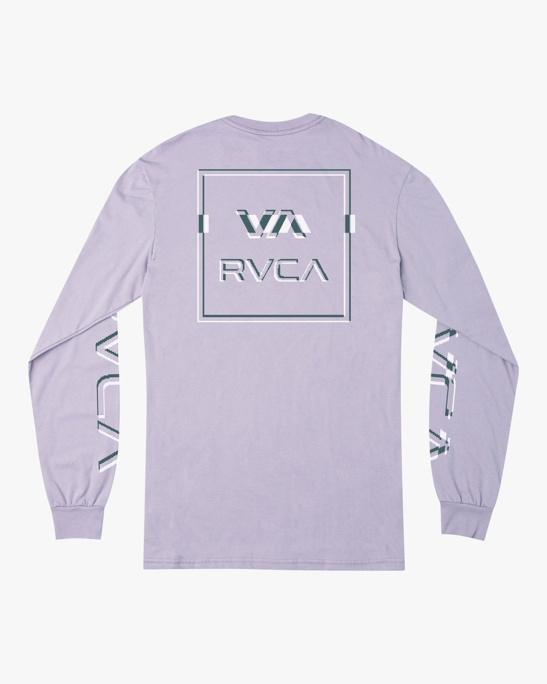 1 Boy's Big Glitch Long Sleeve T-Shirt Blue B451VRBG RVCA
