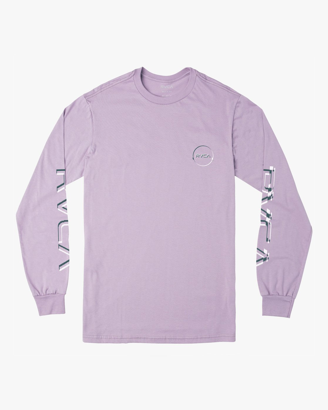 0 Boy's Big Glitch Long Sleeve T-Shirt Blue B451VRBG RVCA