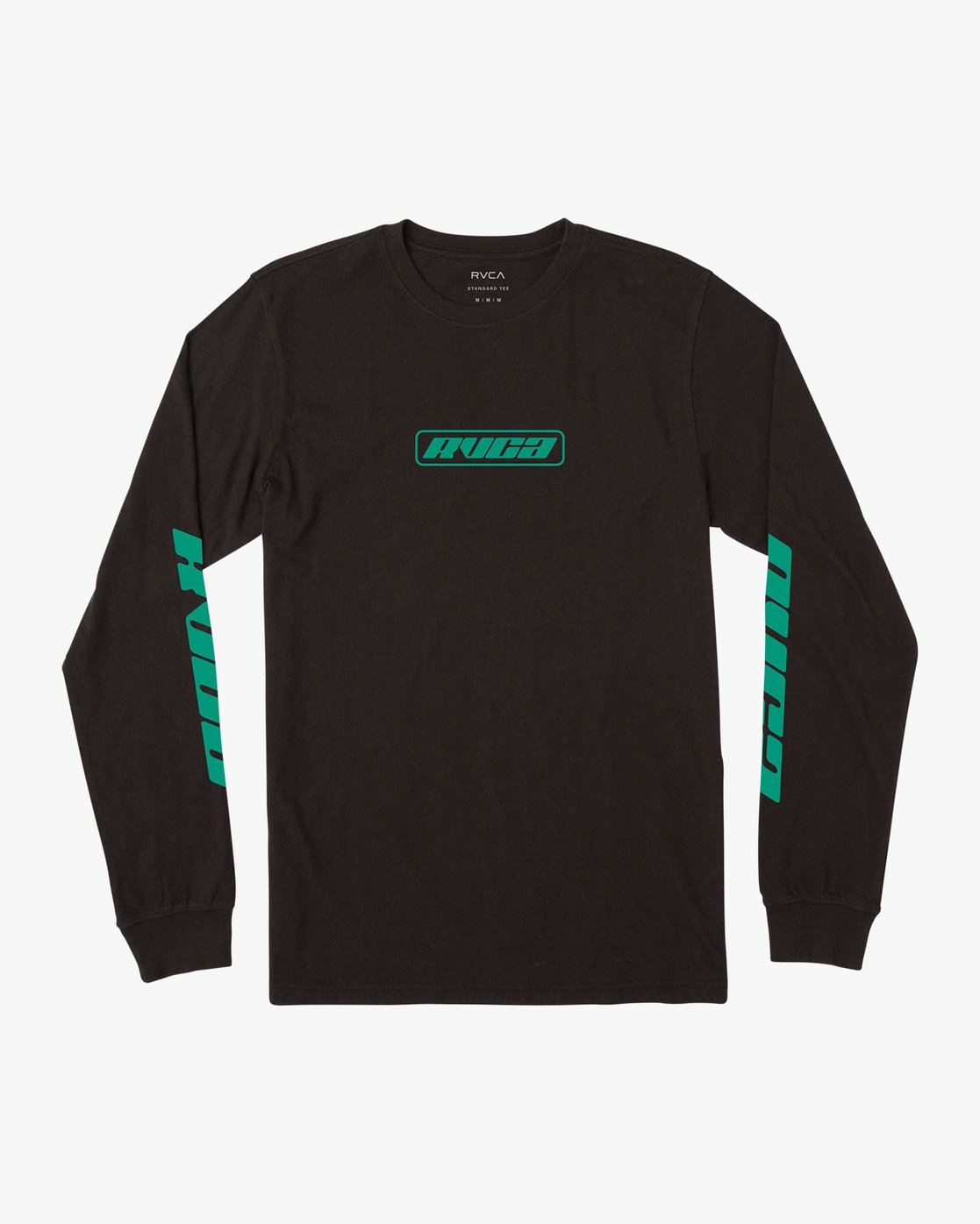 0 Boy's Warehouse Long Sleeve T-Shirt Black B451VRWA RVCA