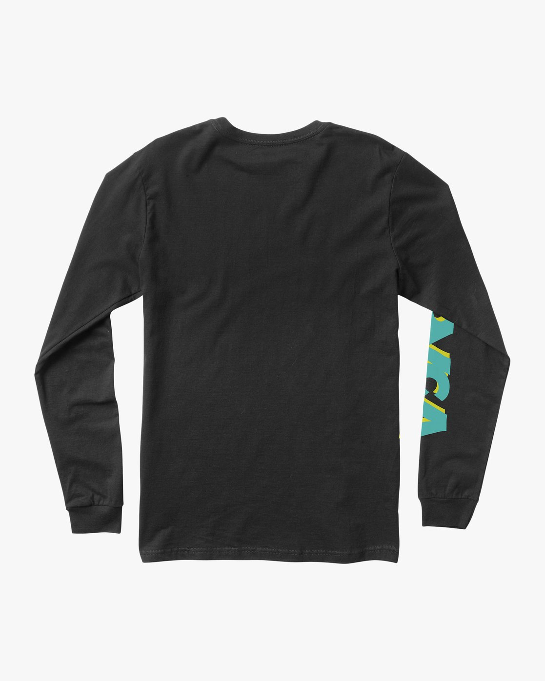 1 Boy's RVCA Slant Long Sleeve T-Shirt Black B453QRRS RVCA