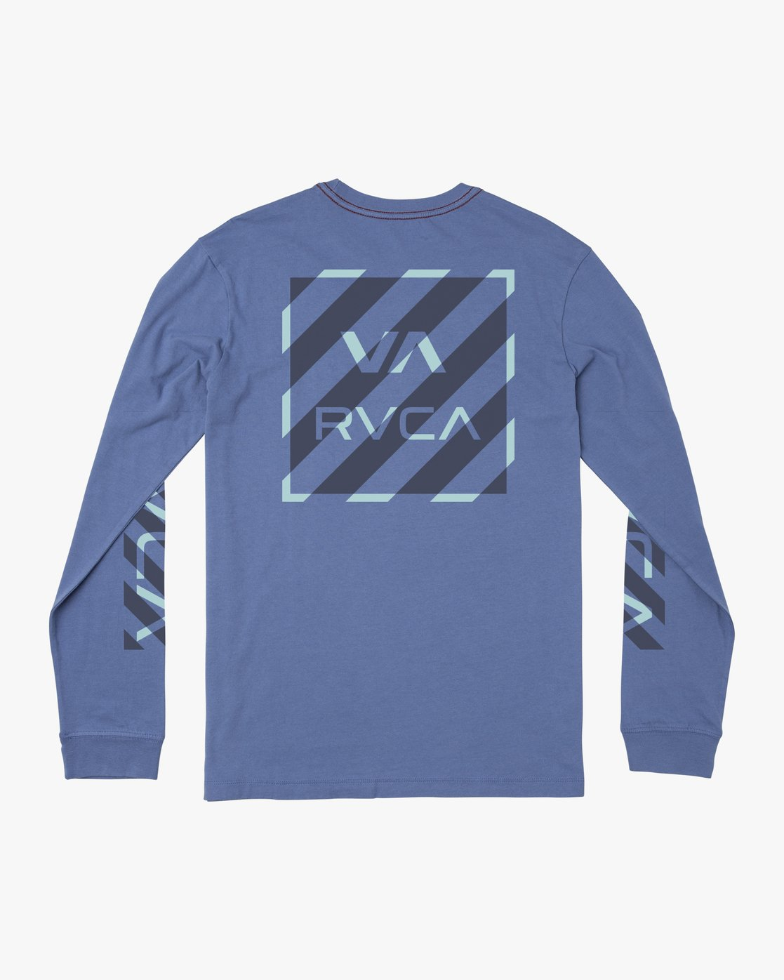 1 BOY'S HAZARD LONG SLEEVE T-SHIRT Blue B4541RHA RVCA