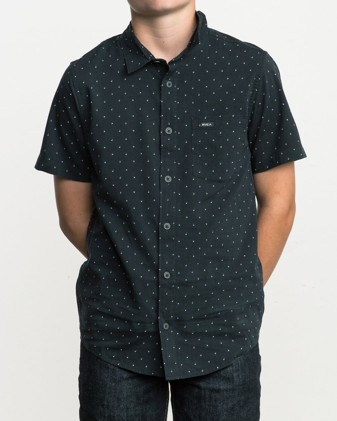 1 Boy's Legacy Button-Up Shirt  B501SRLE RVCA
