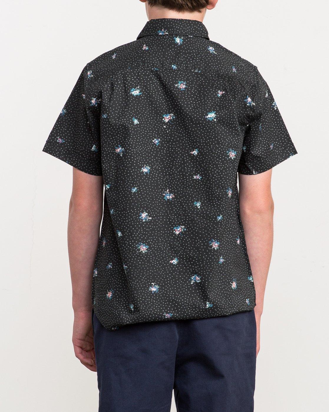 3 Boy's Scattered Printed Shirt  B506QRSC RVCA