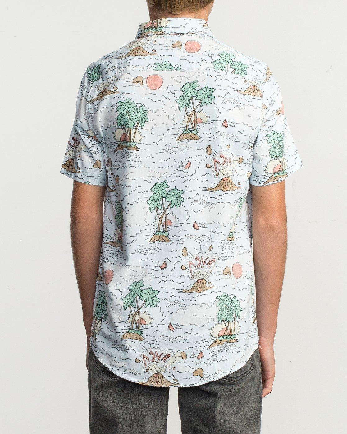 3 Boy's Ceddia Shirt Multicolor B506TRTC RVCA