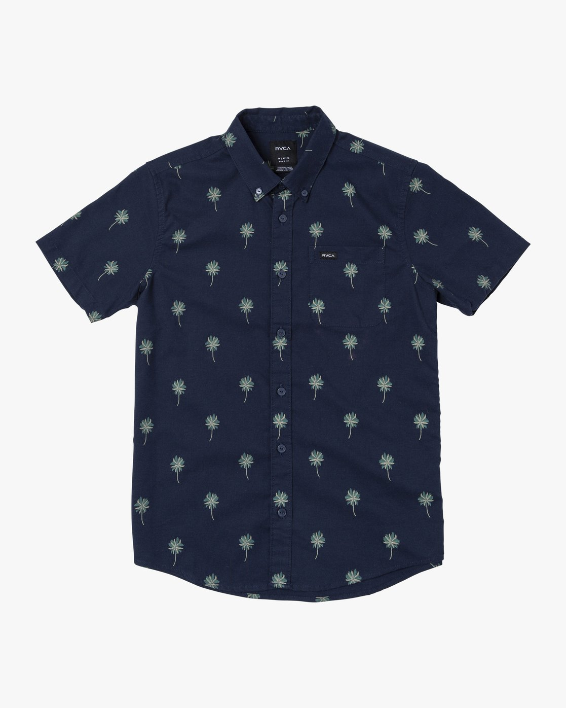 1 Boys THATLL DO PRINT SHORT SLEEVE SHIRT Blue B508TRTP RVCA