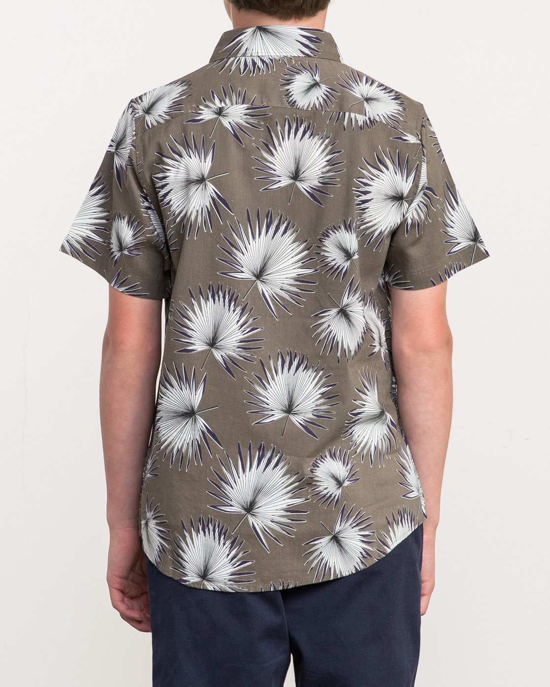 2 Boy's Palms Printed Shirt  B509QRPA RVCA