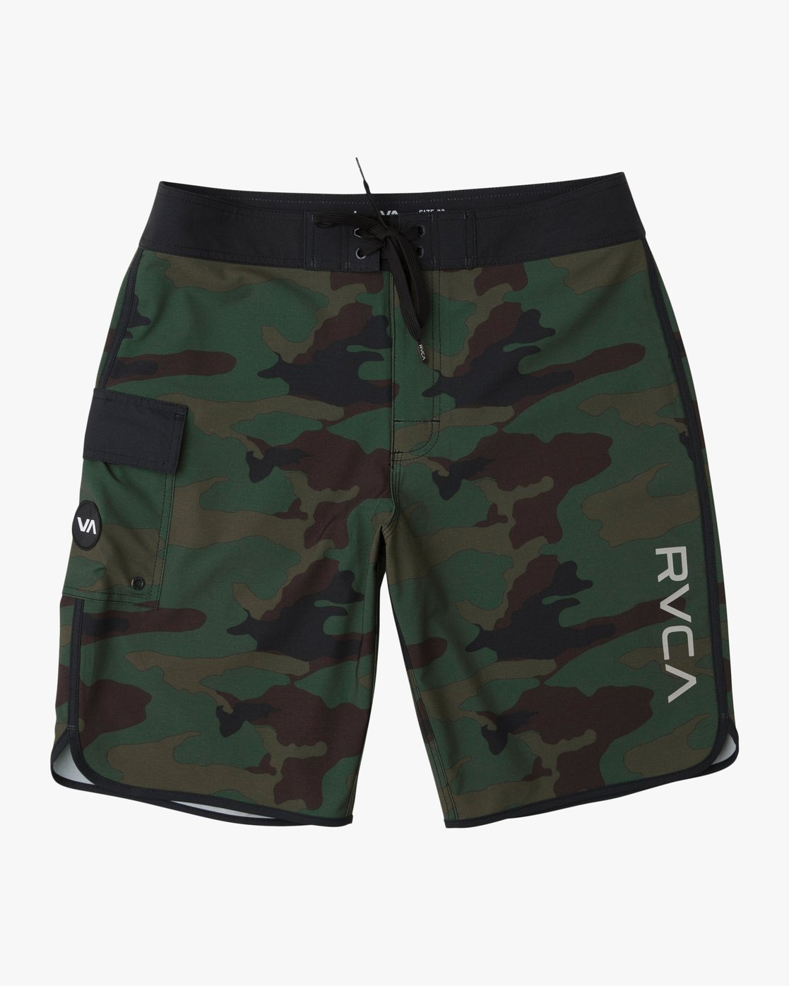 0 Boy's Eastern Boardshorts Brown B5104EAS RVCA