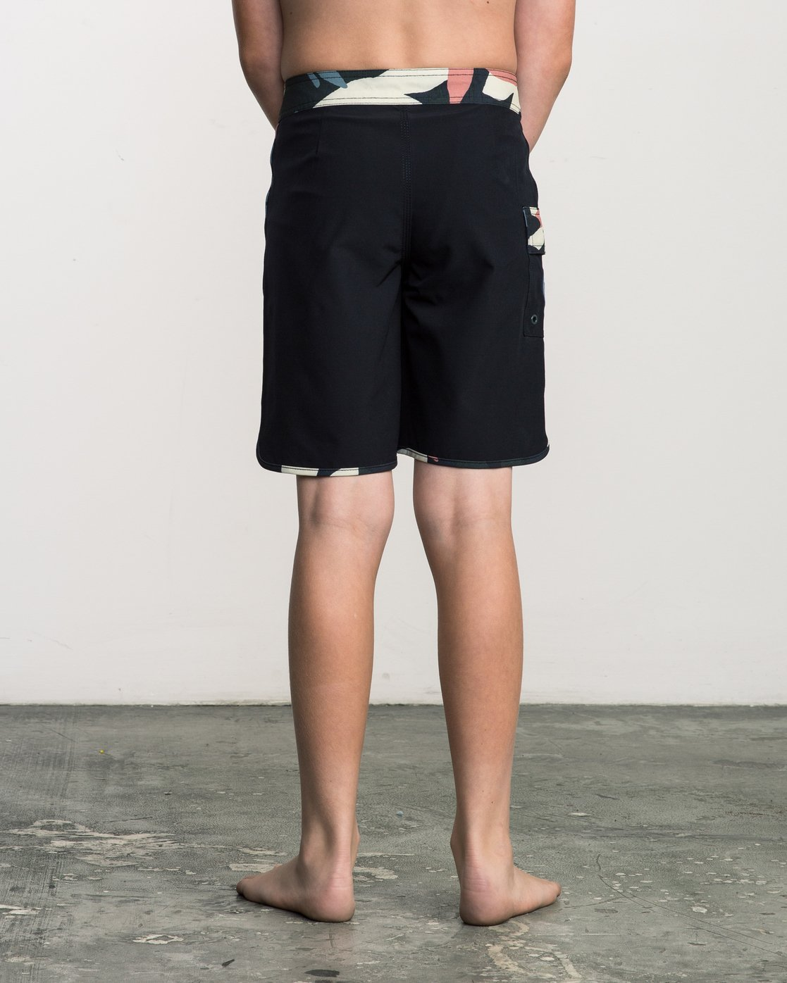 4 Boy's Eastern Boardshorts Grey B5104EAS RVCA