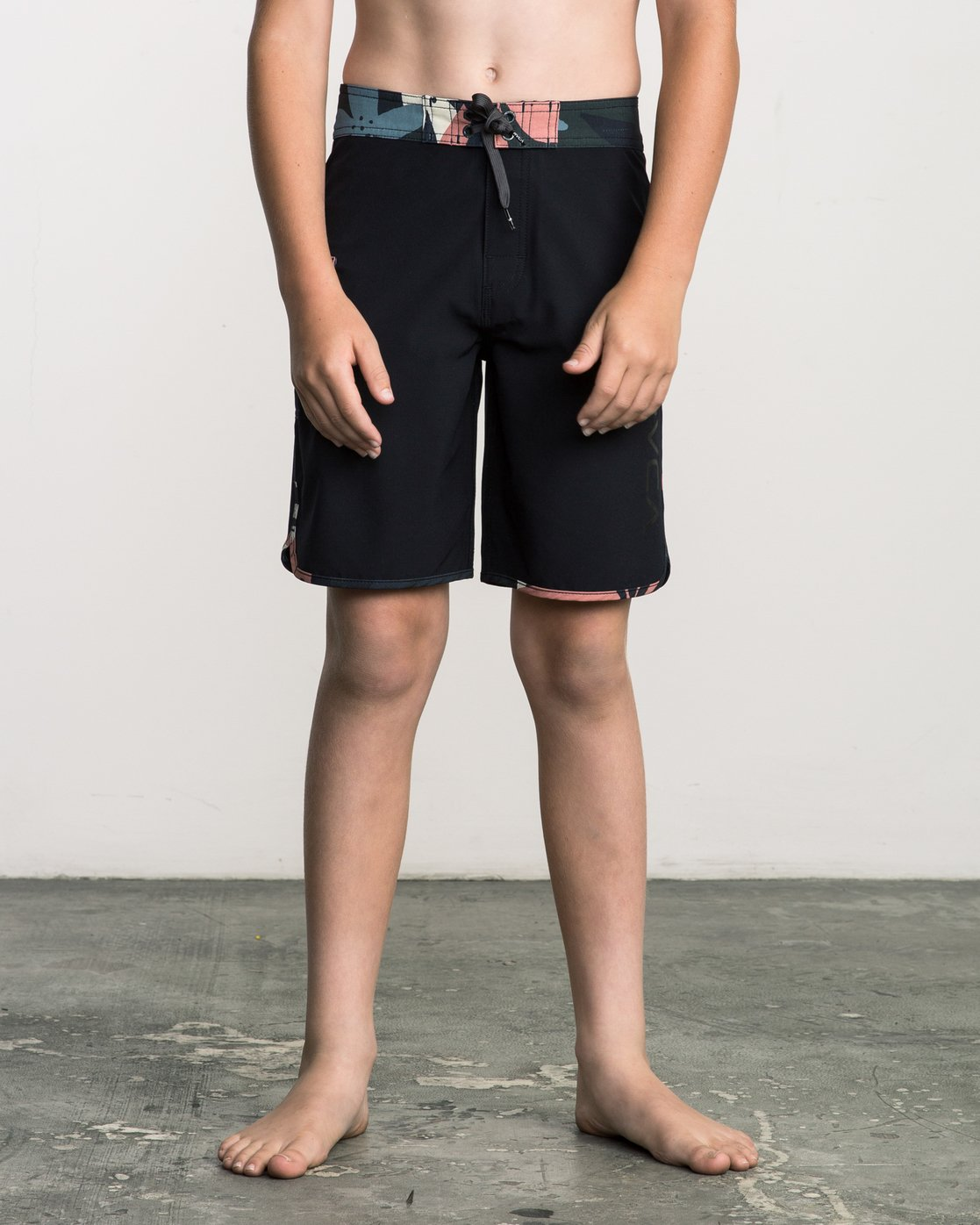 1 Boy's Eastern Boardshorts Grey B5104EAS RVCA