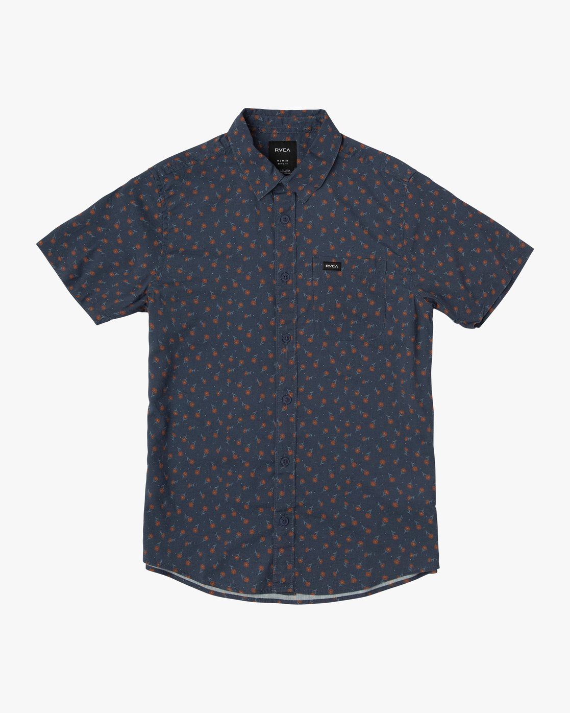 0 Boy's Prelude Floral Shirt Blue B511VRPF RVCA
