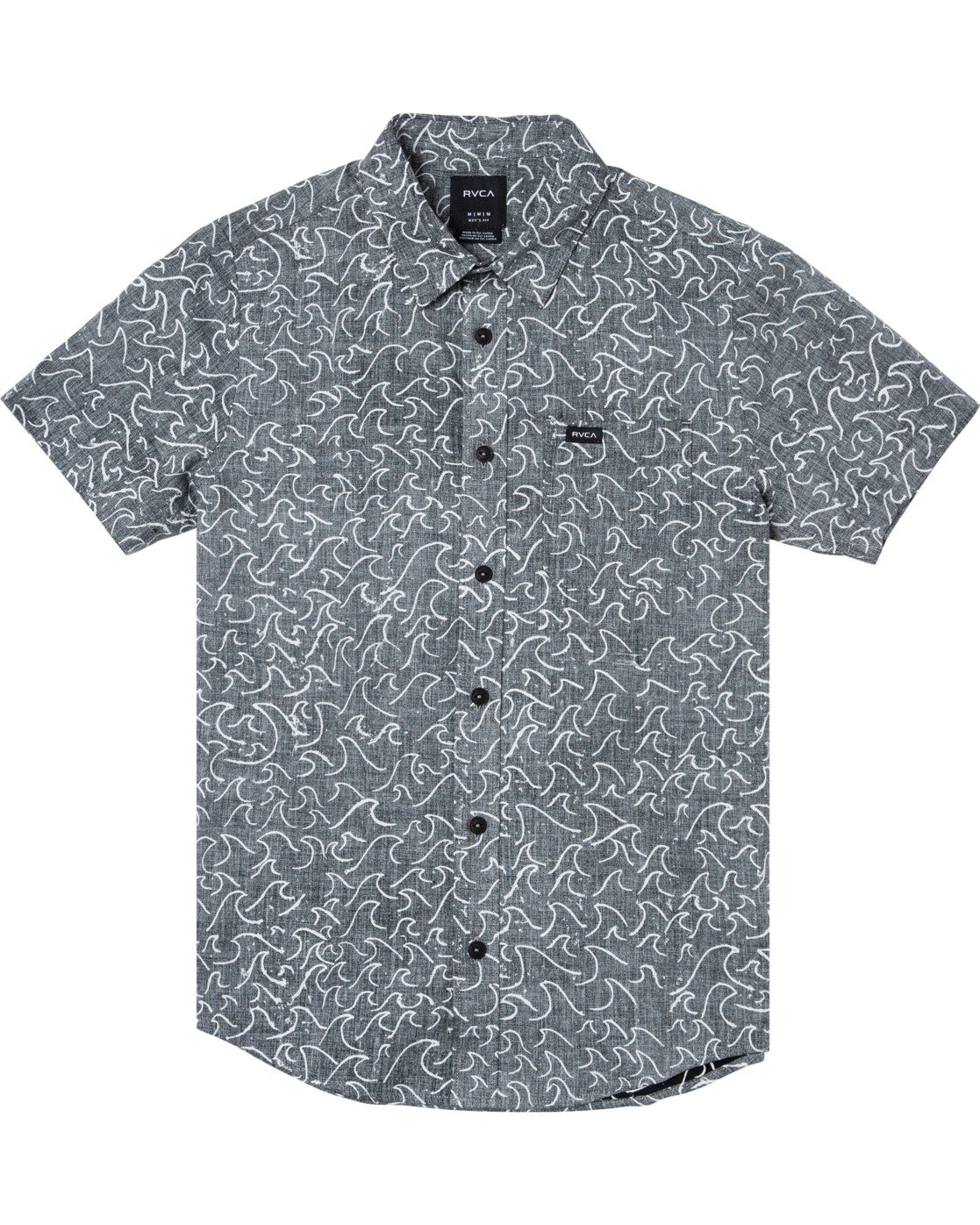 0 Boys OBLOW WAVES SHORT SLEEVE SHIRT  B5172ROW RVCA