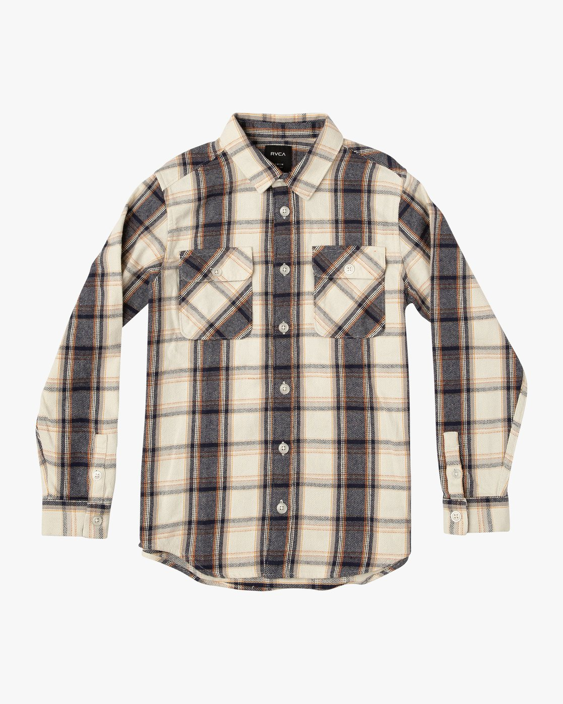 0 Boy's That'll Work Flannel Silver B519VRWF RVCA