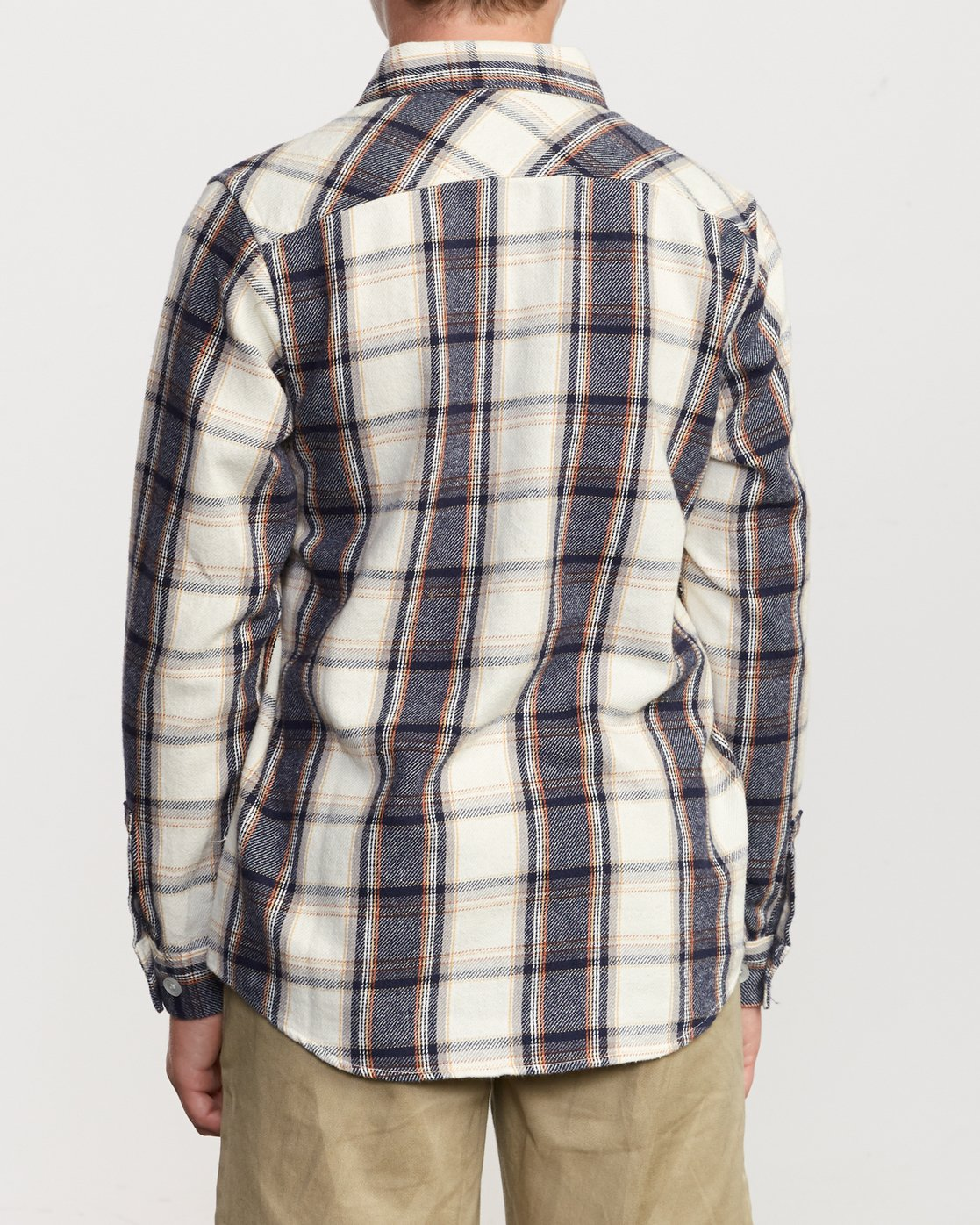 3 Boy's That'll Work Flannel Silver B519VRWF RVCA