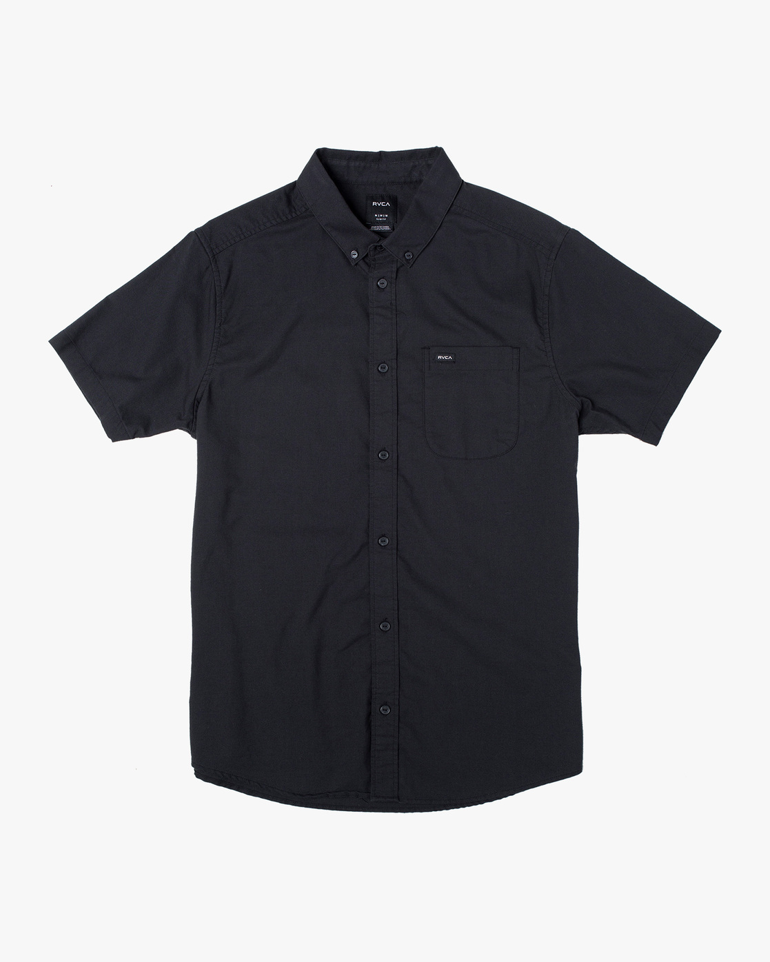 0 Boys That'll Do Stretch Short Sleeve Shirt Black B525TRTS RVCA