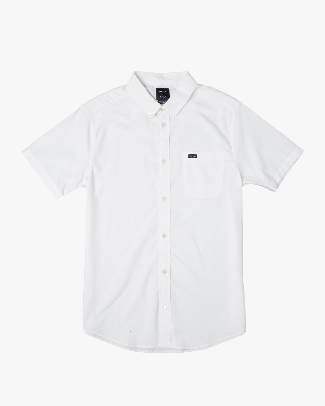 0 Boys That'll Do Stretch Short Sleeve Shirt White B525TRTS RVCA