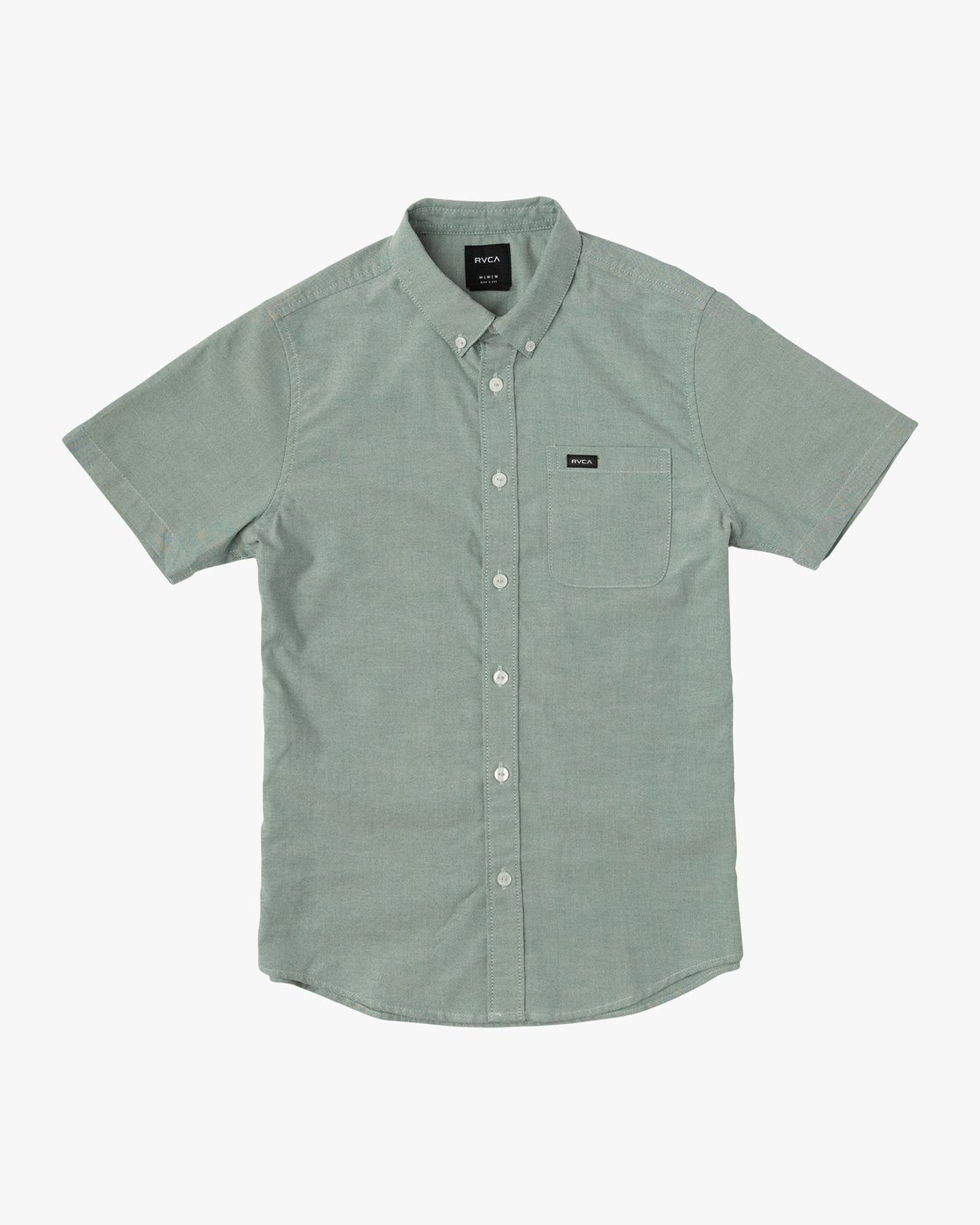 0 Boy's That'll Do Stretch Short Sleeve Shirt Green B525TRTS RVCA