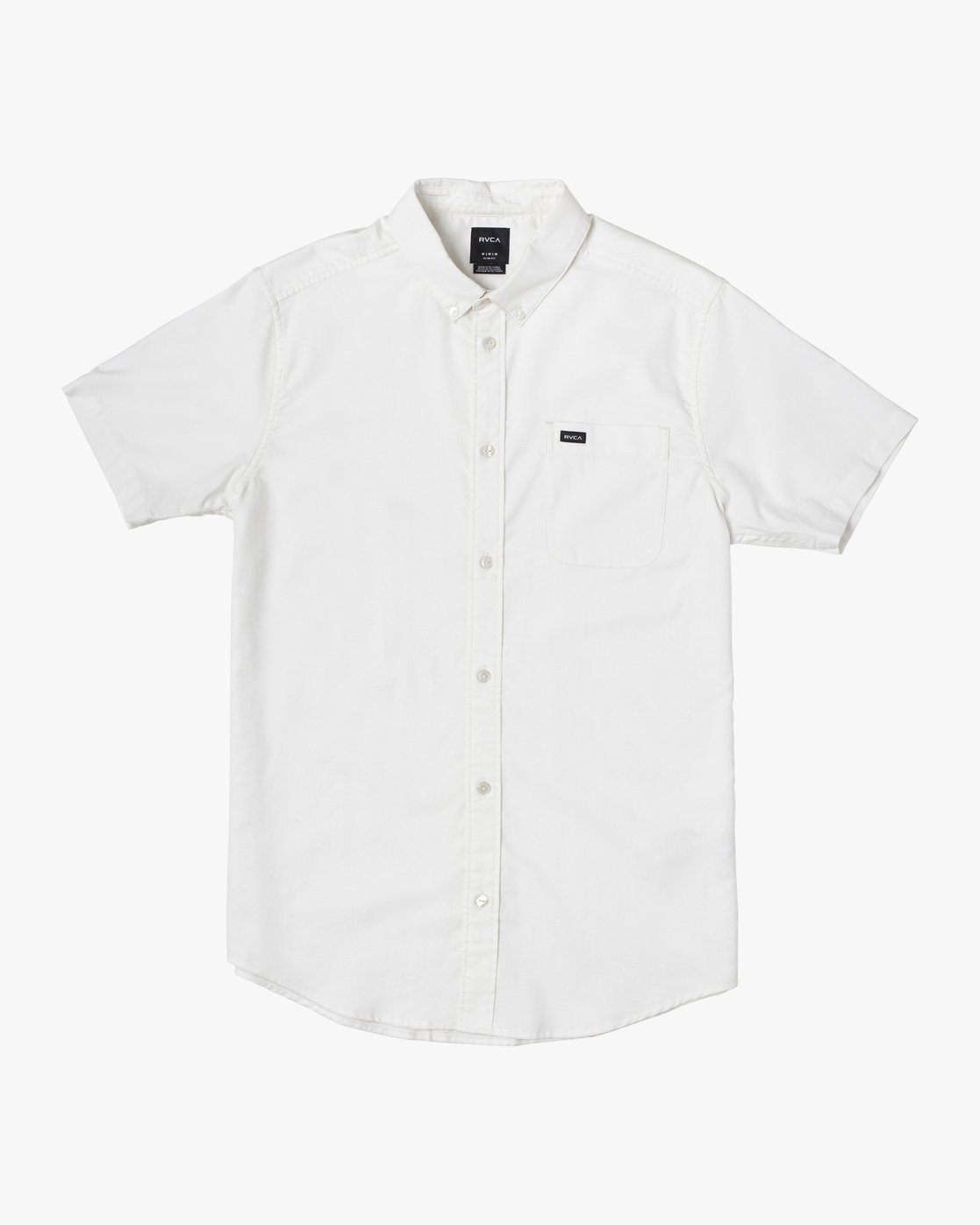 1 Boys That'll Do Stretch Short Sleeve Shirt White B525TRTS RVCA