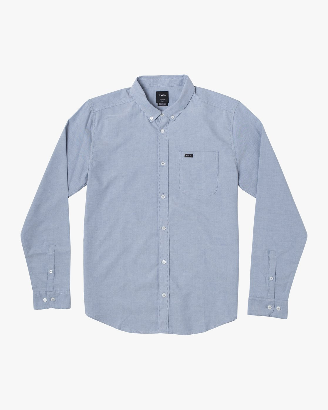 1 BOYS THATLL DO STRETCH LONG SLEEVE SHIRT Blue B526VRTL RVCA