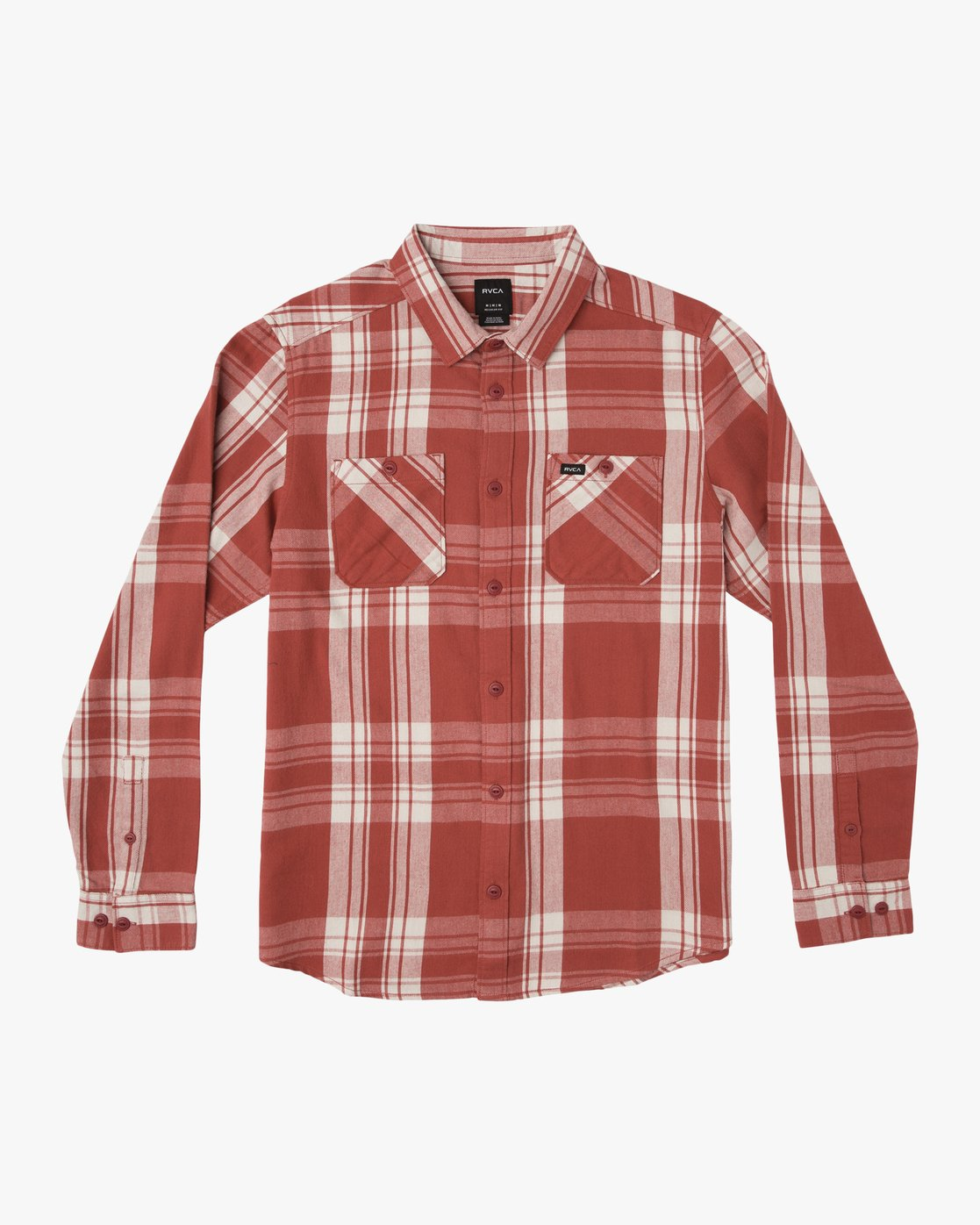 0 Boy's Wanted Plaid Flannel  B551SRWA RVCA