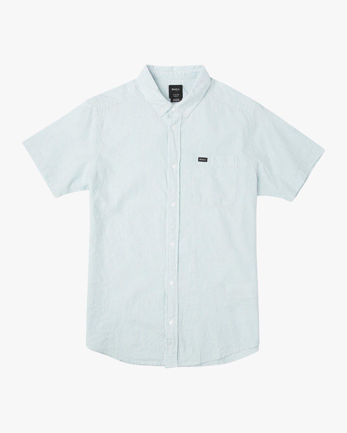 0 Boy's That'll Do Hi Grade II Shirt Blue B552URTH RVCA