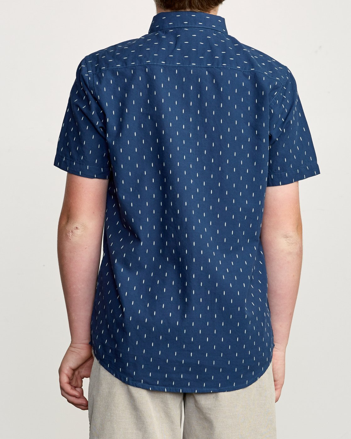 3 Boy's That'll Do Hi Grade II Shirt Blue B552URTH RVCA