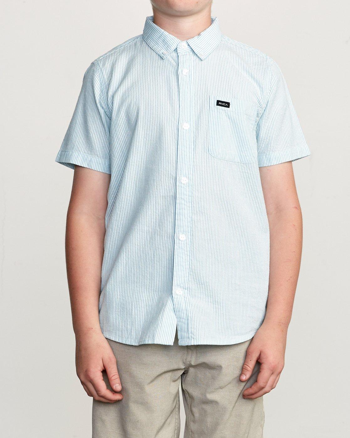 1 Boy's That'll Do Hi Grade II Shirt Blue B552URTH RVCA
