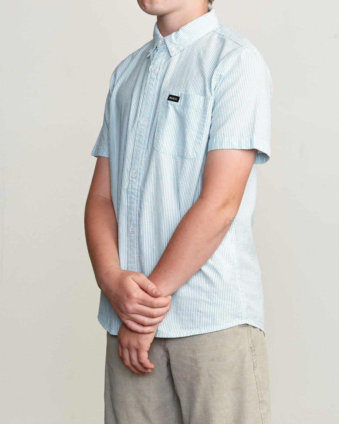 2 Boy's That'll Do Hi Grade II Shirt Blue B552URTH RVCA