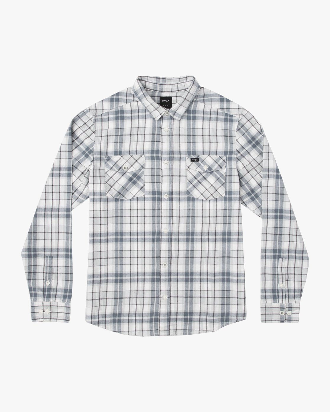 0 Boy's Watt Flannel Shirt Orange B553TRWF RVCA