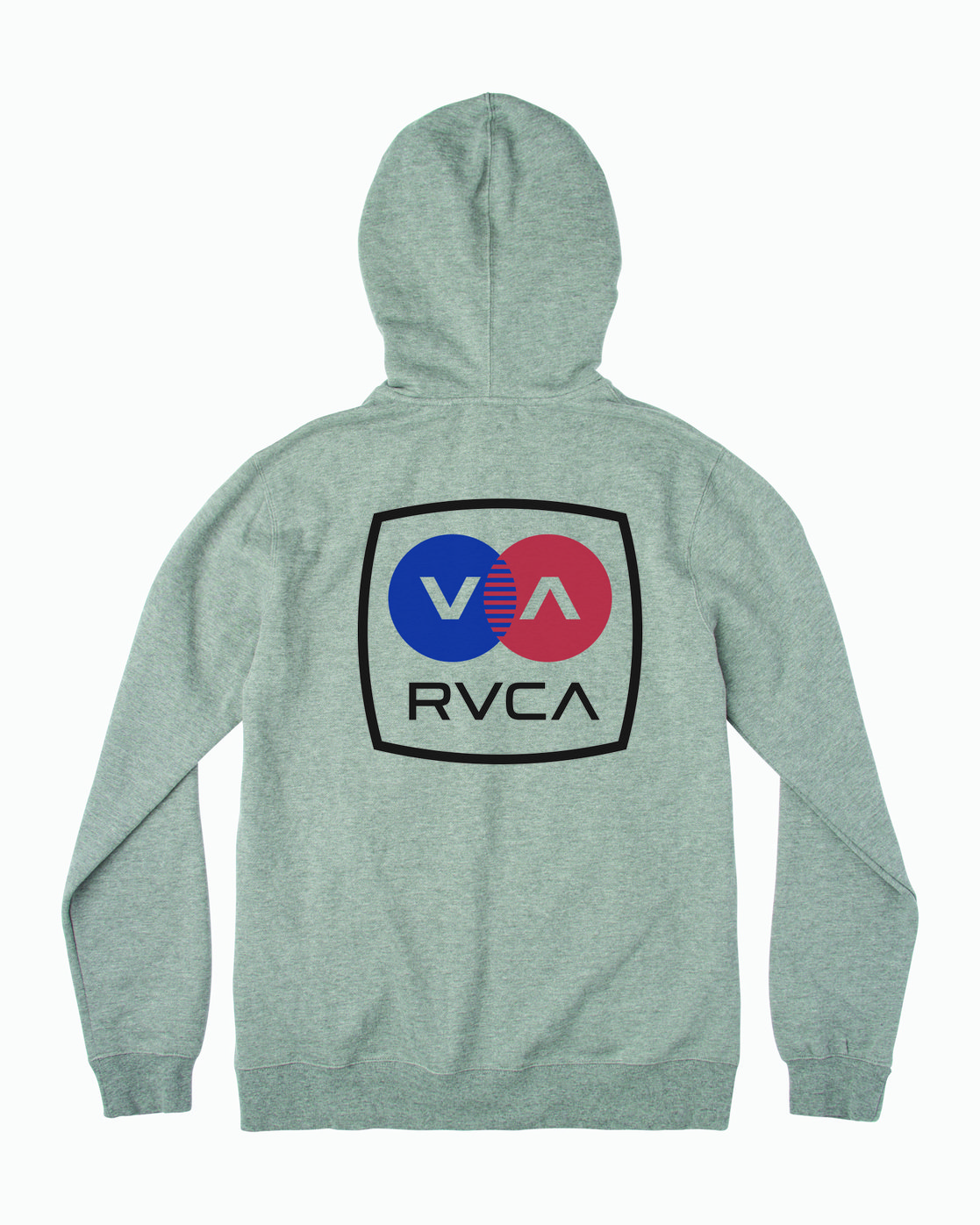 1 Boy's Subway Zip-Up Hoodie Grey B604WRSU RVCA