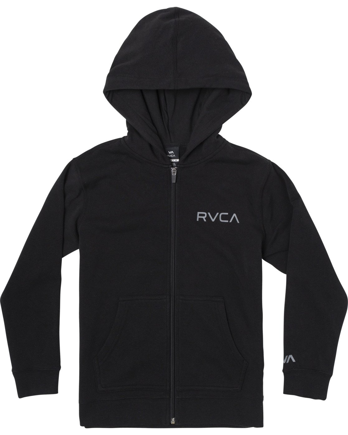 0 BOYS Ripper II ZIP HOODIE Orange B6053RRI RVCA