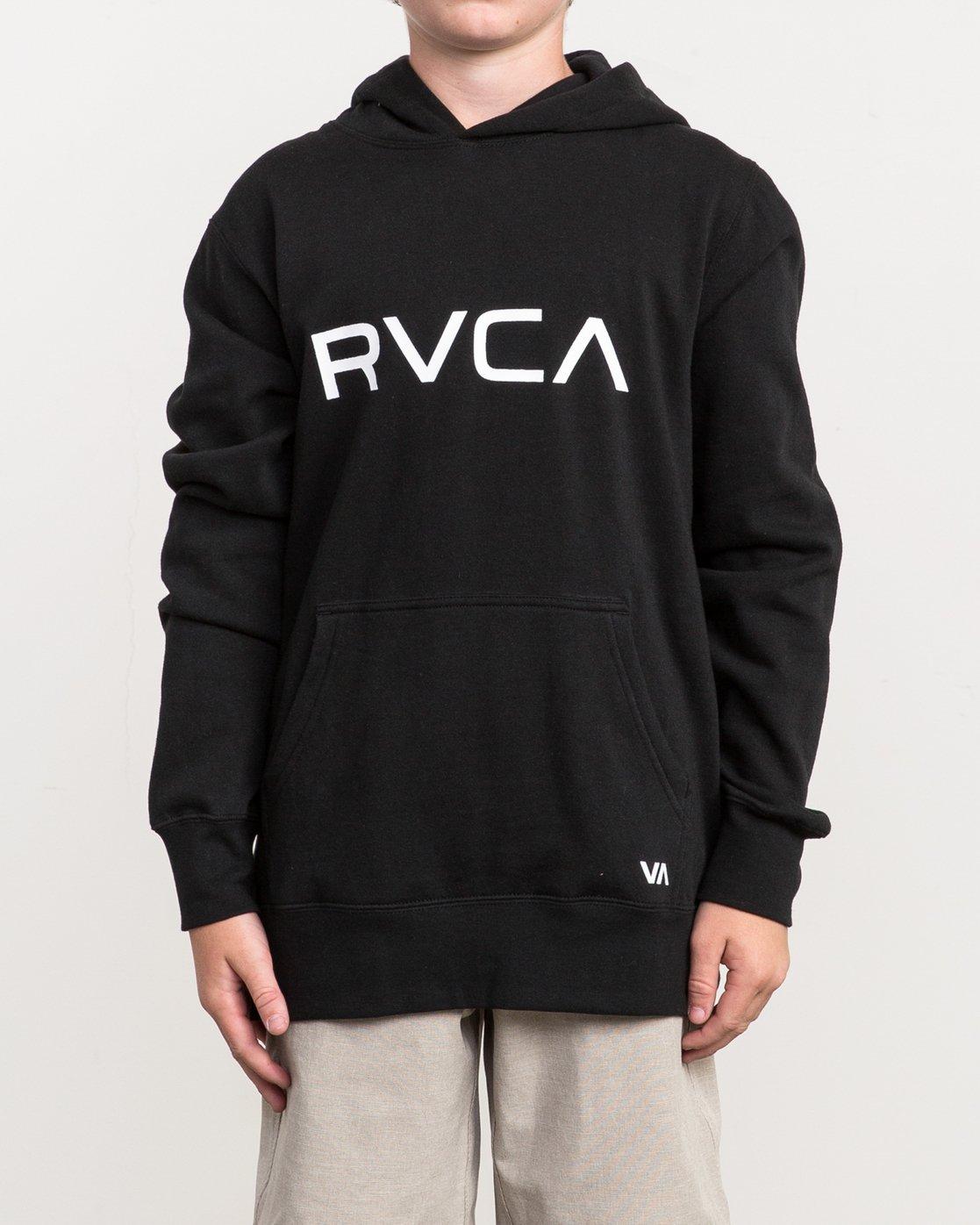 1 Boy's Big RVCA Po Hoodie  B606QR0B RVCA