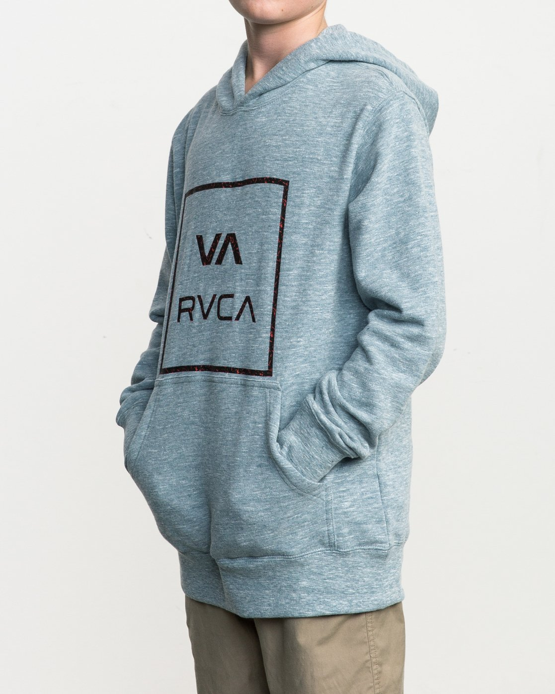 2 Boy's Fill All The Way Hoodie  B606SRPB RVCA