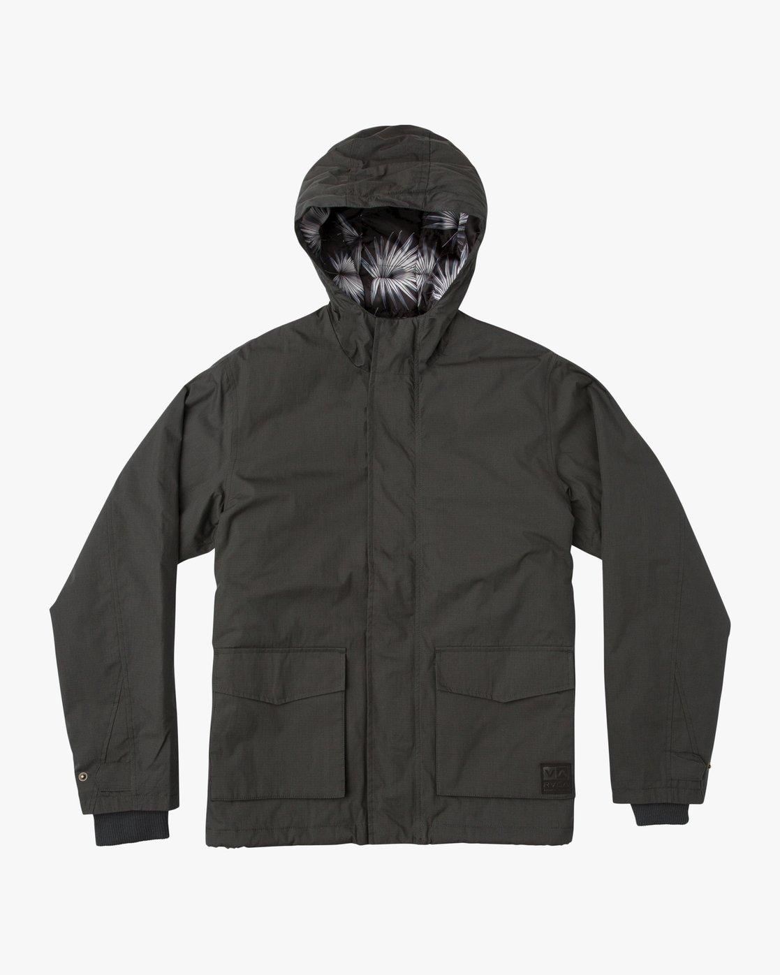 0 Boy's Puffer Parka Jacket  B702SRPP RVCA
