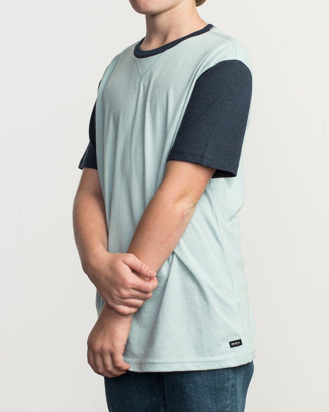 2 Boy's Pick Up II Knit Shirt Blue B902QRPU RVCA