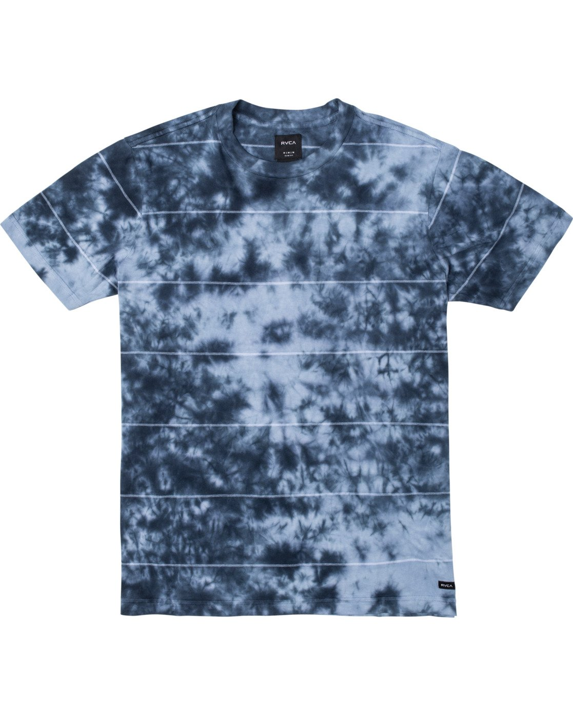 0 Boys DELIRIUM CREW SHORT SLEEVE T-SHIRT Blue B9038RDC RVCA