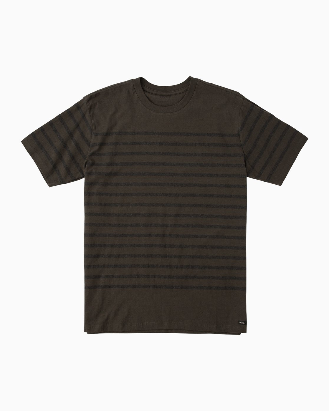 0 Boy's Dean Stripe Knit Shirt Black B904QRDS RVCA