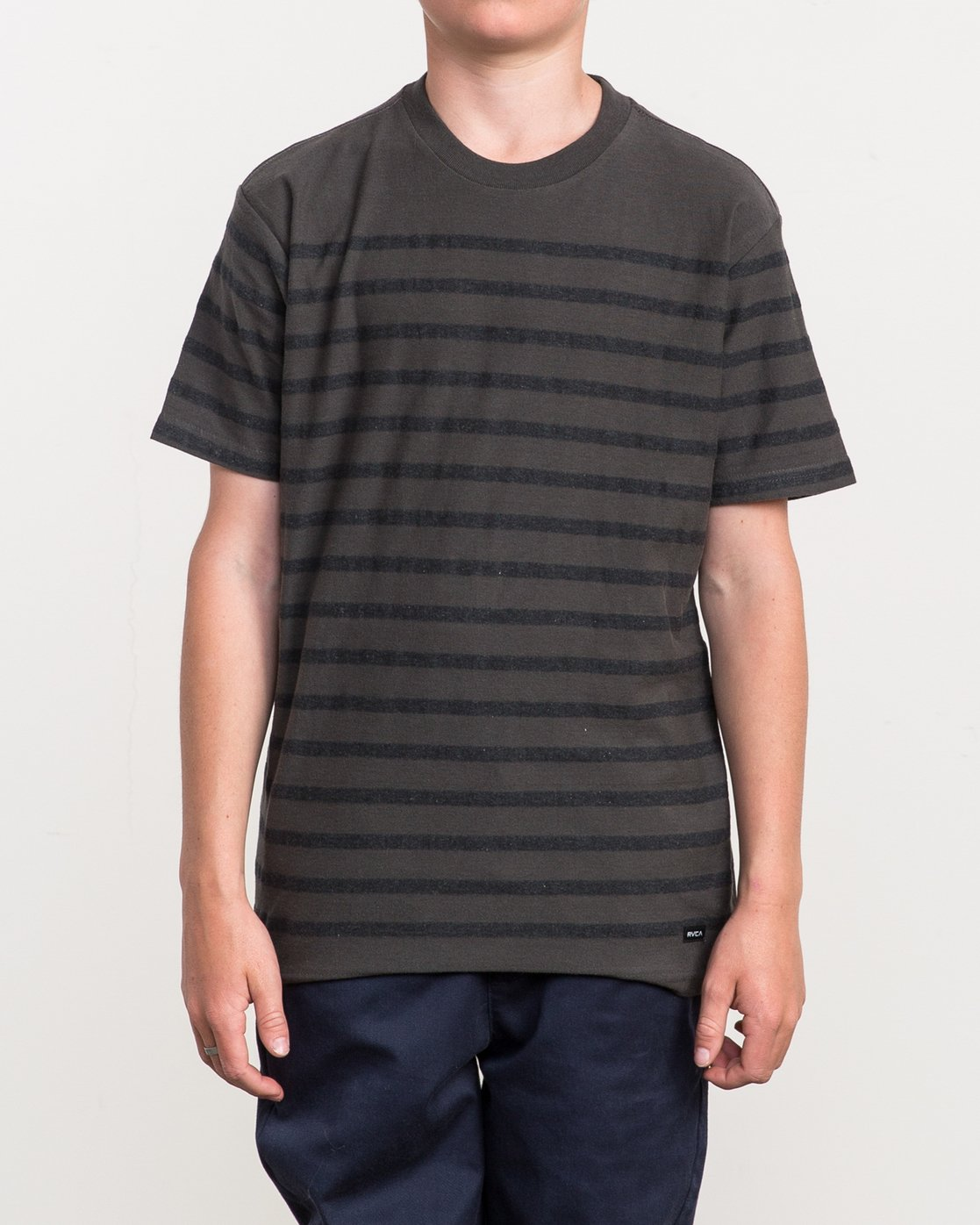 1 Boy's Dean Stripe Knit Shirt  B904QRDS RVCA