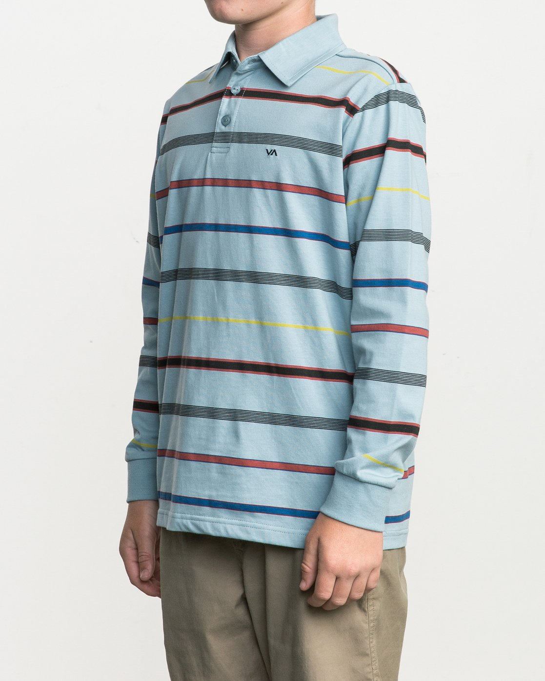 2 Boy's Sure Thing Striped Polo  B952SRSP RVCA