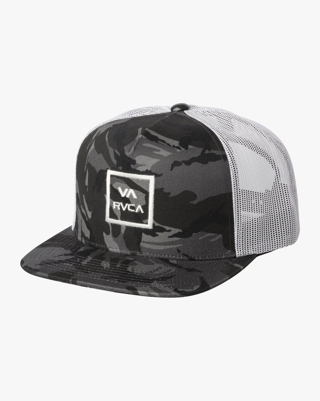 1 BOYS VA ATW TRUCKER HAT Black BAAHWVAA RVCA