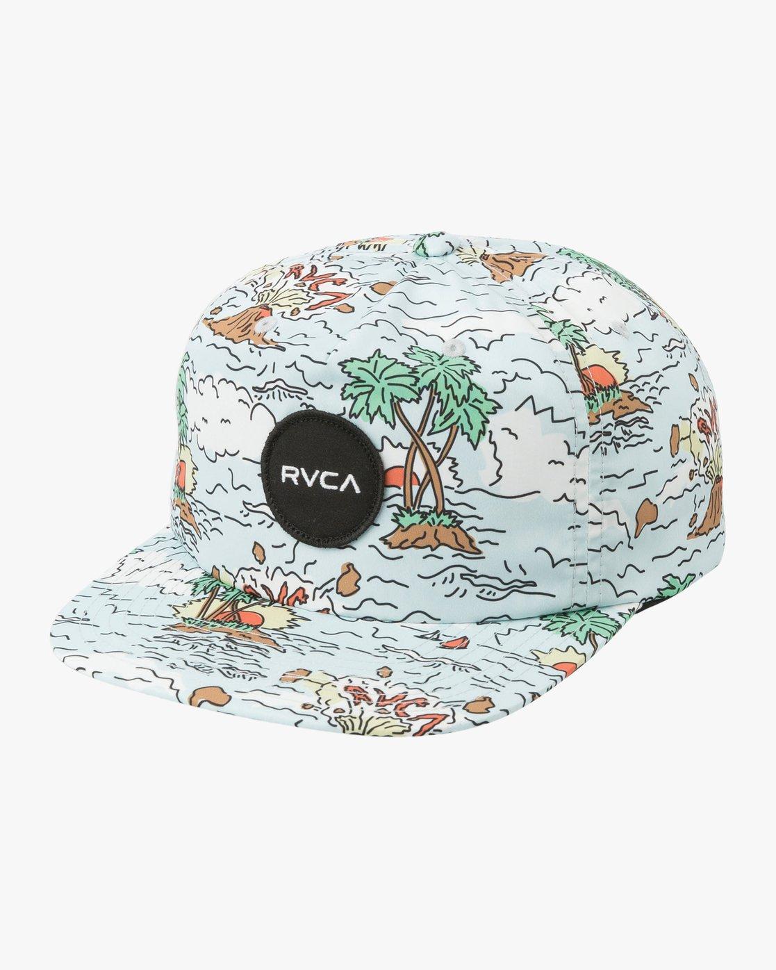 1 Boy's Print Cap Hat Multicolor BAHWTRPC RVCA