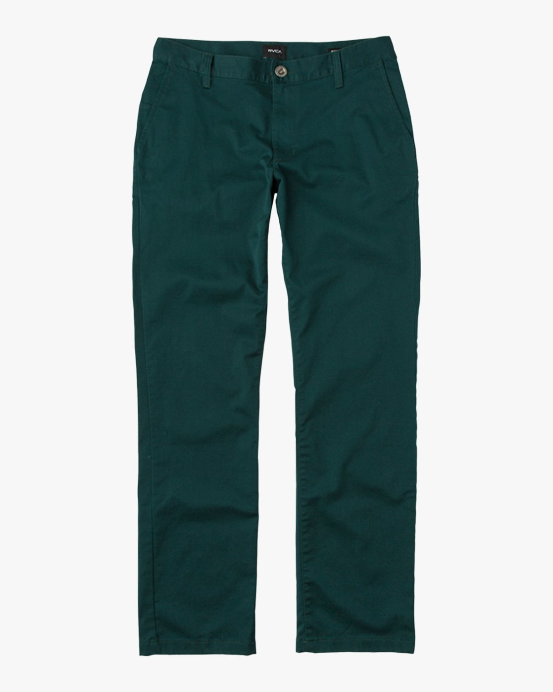 6 Boy's Weekday Stretch Pants Green BC301WDS RVCA