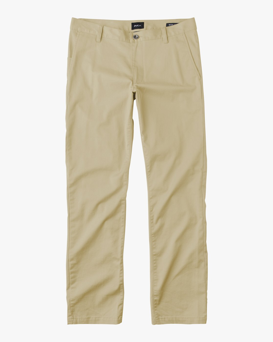 6 BOY'S WEEKDAY STRETCH straight fit PANT Beige BC301WDS RVCA