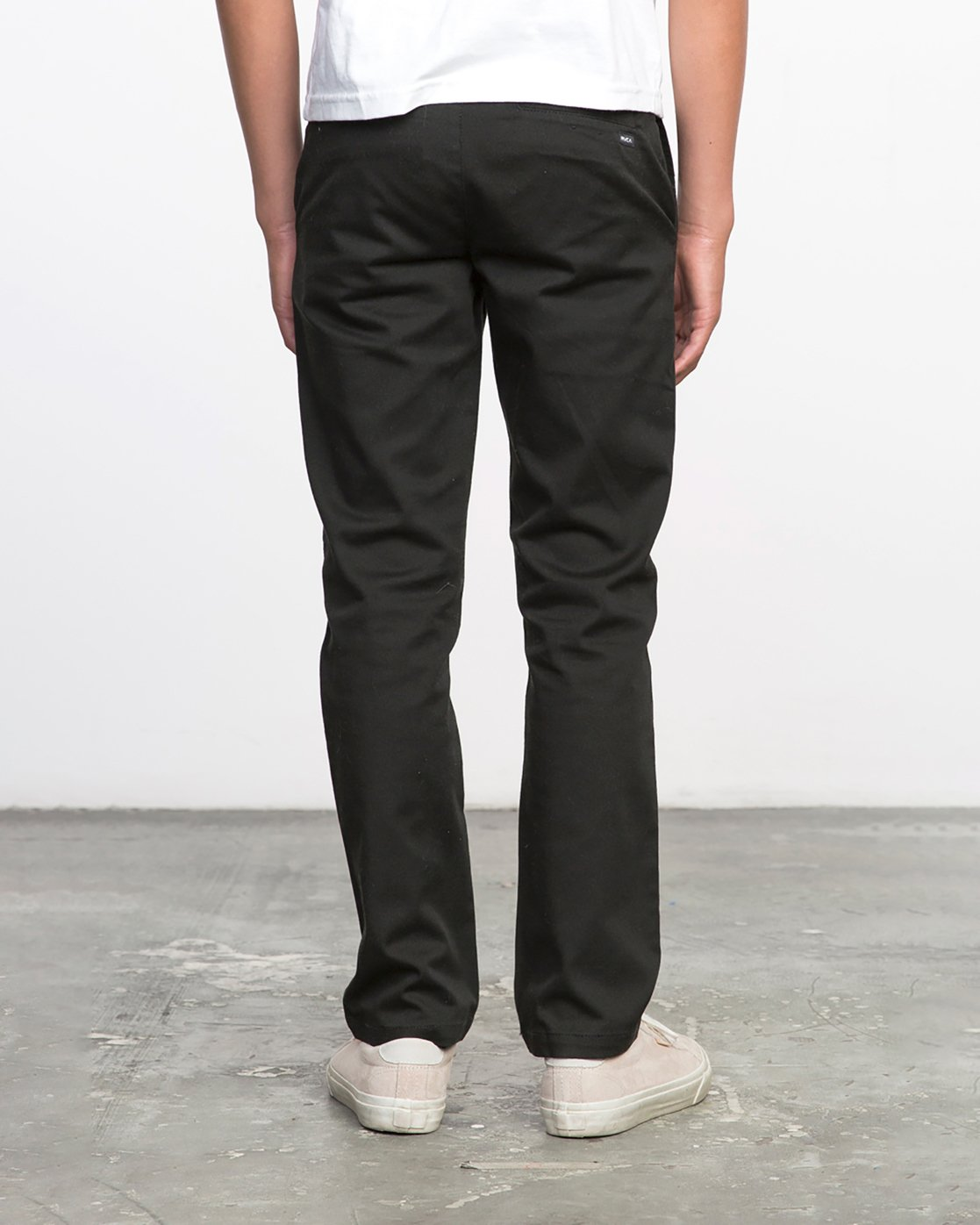 3 Boy's Weekday Stretch Pants Black BC301WDS RVCA