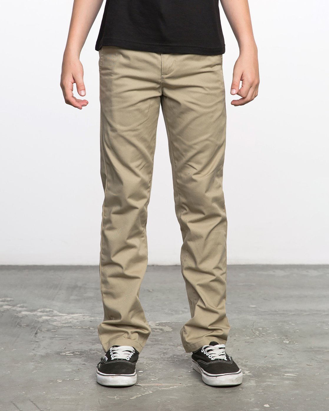 0 Boys WEEKDAY STRETCH straight fit PANT Beige BC301WDS RVCA