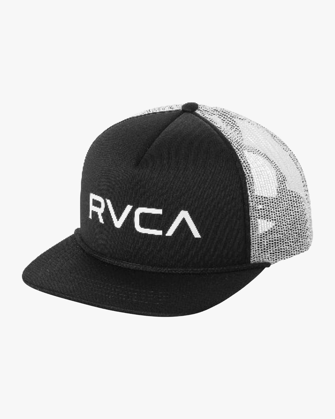 205c3d89aea59 0 Boy s Foamy Trucker Hat Black BJAHWRFT RVCA