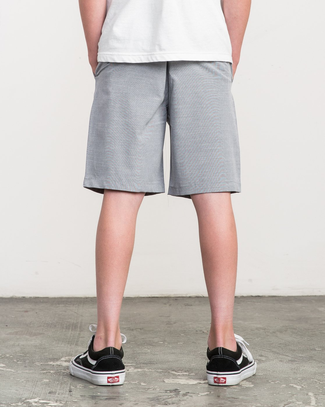 3 Boy's That'll Walk Oxford Short  BK202TWO RVCA