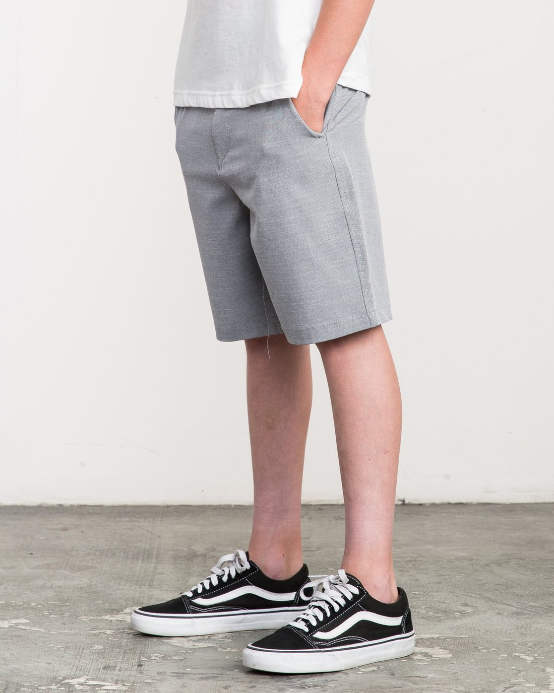 2 Boy's That'll Walk Oxford Short  BK202TWO RVCA