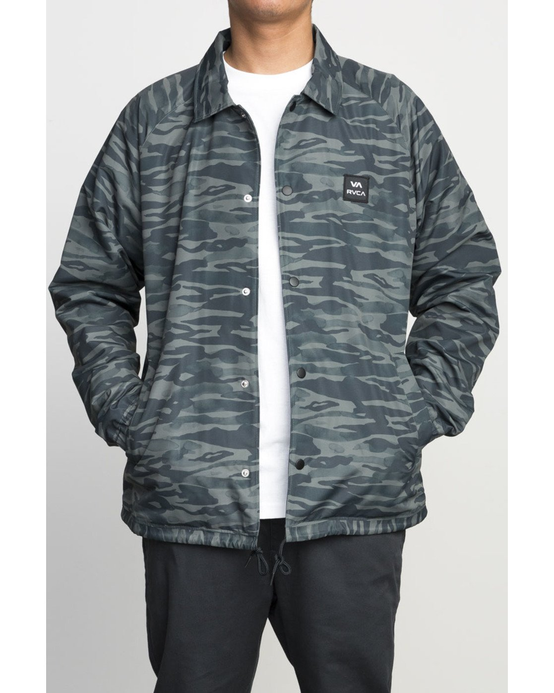 1 VA ALL THE WAY COACH JACKET Camo F1JKGBRVF7 RVCA